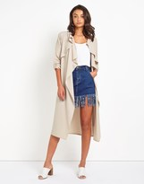 boohoo Waterfall Duster Jacket