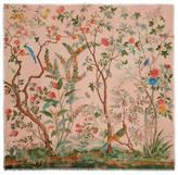 Gucci Wool silk Tree of Life shawl