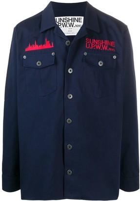 U.P.W.W. Embroidered Logo Shirt Jacket