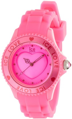Ice Watch Ice-Watch Ice-Love Pink Small Silicone Watch LO.PK.S.S.10