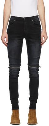 Amiri Black Denim MX2 Jeans