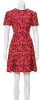 Erdem Jacquard Mini Dress