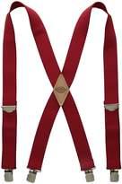 Dickies Men's 1-1/2 Solid Straight Clip Suspender