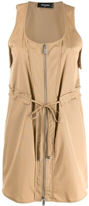 DSQUARED2 Zipped Mini Dress