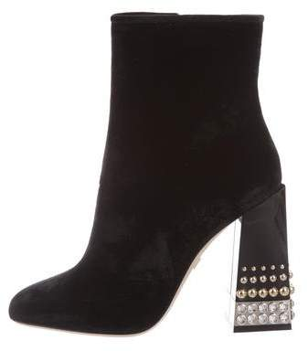Dolce & Gabbana 2018 Studded Ankle Boots