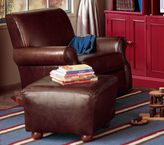 Leather Lullaby Rocker, Swivel Glider  Ottoman