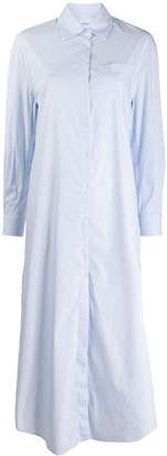 Dondup striped-print long shirt dress