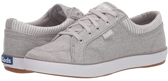 Keds Center Chambray/Stripe (Light Grey) Women's Lace up casual Shoes