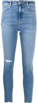AllSaints Distressed Skinny Jeans