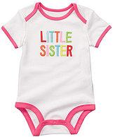 "Carter's Carter ́s Newborn ""Little Sister"" Bodysuit"