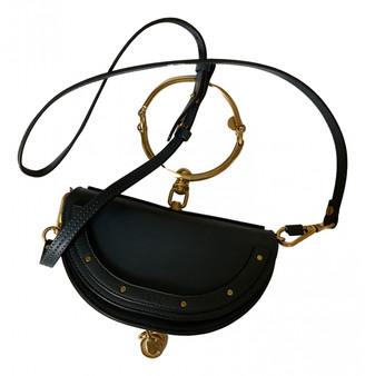 Chloé Bracelet Nile Navy Leather Handbags
