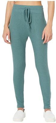 Beyond Yoga Your Line Midi Sweatpants (Wild Sage Heather) Women's Casual Pants