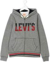 Levi's Kids zip front hoodie