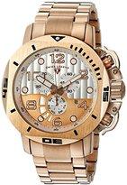 Swiss Legend Men's 10538-RG-22S Scubador Analog Display Swiss Quartz Rose Gold Watch