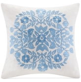 "Echo Painted Paisley 16"" Square Decorative Pillow"