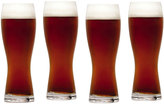 Mikasa Brewmasters Set of 4 Wheat Glasses
