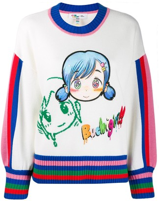 Mira Mikati Embroidered Character Jumper