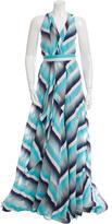 Martin Grant Striped Maxi Dress w/ Tags