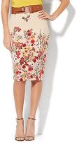 New York & Co. 7th Avenue Design Studio Floral Pencil Skirt