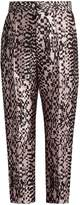 Haider Ackermann Madeleine high-rise silk-blend jacquard trousers