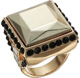 GUESS Square Stone Ring