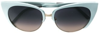 Matthew Williamson x Linda Farrow cat-eye sunglasses