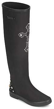 Colors of California CHUMANI women's High Boots in Black