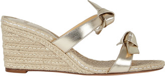 Alexandre Birman Clarita 85 Espadrille Wedge Sandals