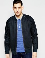 Boss Orange Bomber Jacket In Black