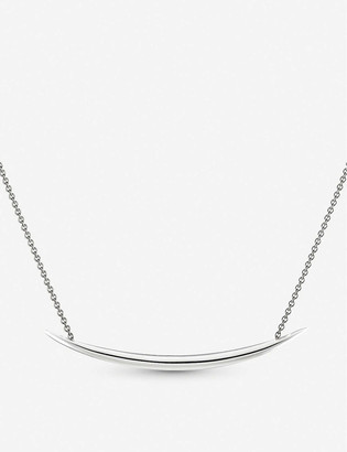 Shaun Leane Quill pendant stainless steel necklace