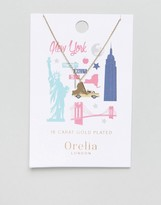Orelia New York State Necklace