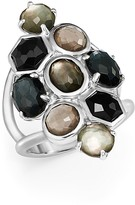 Ippolita Sterling Silver Rock Candy® Multi Stone and Doublet Cluster Ring in Black Tie