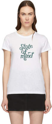 Rag & Bone White State Of Mind T-Shirt