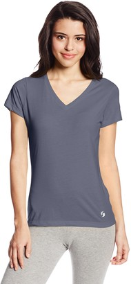 Soffe Women's No Sweat V-Tee