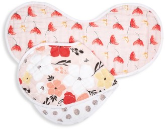 Aden Anais Baby Girl's Picked For You Burpy Bib