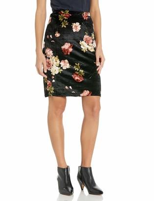 Star Vixen Women's Petite Knee Length Classic Stretch Pencil Skirt