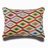 Jonathan Adler Bargello Diamonds Pillow