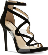 Jessica Simpson Roelyn Lucite Sandals