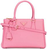 Prada brand embellished tote bag