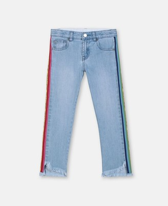 Stella McCartney mom denim trousers