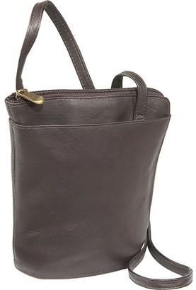 Le Donne Leather L-Zip Mini Shoulder Bag