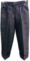 Viktor & Rolf Navy Trousers for Women