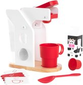 Kid Kraft Wooden Coffee Set - Red and White