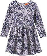 Joe Fresh Toddler Girls' Floral Print Dress, Grey Mix (Size 5)