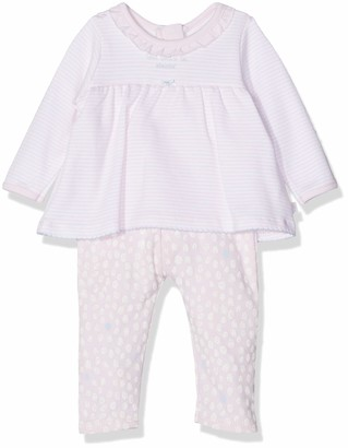 Absorba Baby Girls' 7p32051-ra Combiblouse Romper