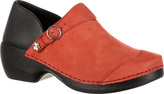 Women's 4EurSole Nubuck Leather Clog RKYH042