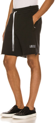 Amiri Core Sweat Shorts in Black | FWRD