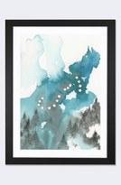 iCanvas 'Scorpio' Framed Fine Art Print