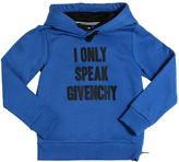 Givenchy Hooded Printed Cotton Sweatshirt