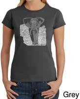 LOS ANGELES POP ART Los Angeles Pop Art Elephant Graphic T-Shirt